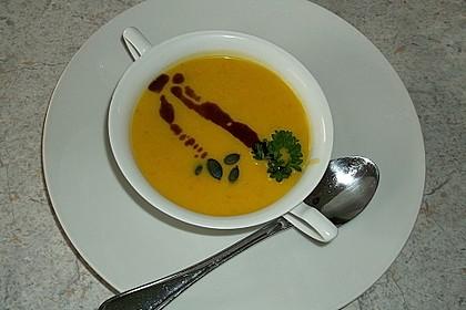 Kürbissuppe mit Ingwer und Kokosmilch 69