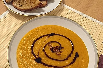 Kürbissuppe mit Ingwer und Kokosmilch 125