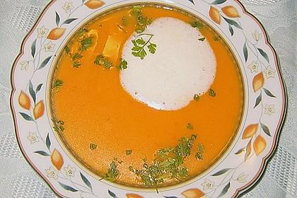 Kürbissuppe mit Ingwer und Kokosmilch 112