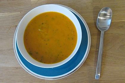 Kürbissuppe mit Ingwer und Kokosmilch 187