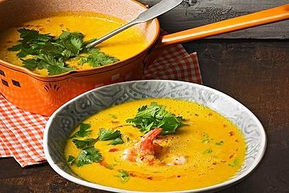 Kürbissuppe mit Ingwer und Kokosmilch 3