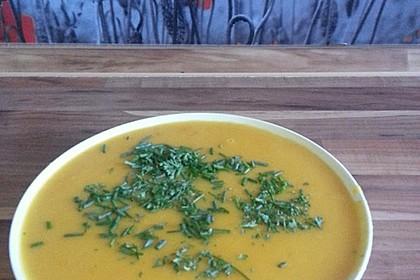 Kürbissuppe mit Ingwer und Kokosmilch 97