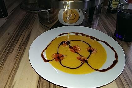 Kürbissuppe mit Ingwer und Kokosmilch 140