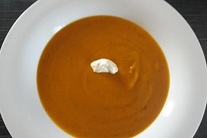 Kürbissuppe mit Ingwer und Kokosmilch 129