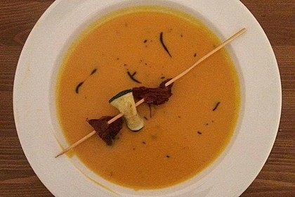 Kürbissuppe mit Ingwer und Kokosmilch 106