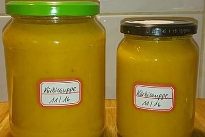 Kürbissuppe mit Ingwer und Kokosmilch 147