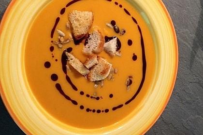 Kürbissuppe mit Ingwer und Kokosmilch 120