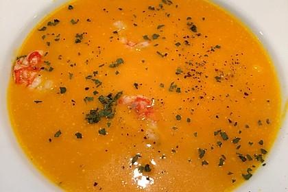 Kürbissuppe mit Ingwer und Kokosmilch 149