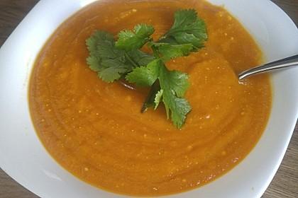 Kürbissuppe mit Ingwer und Kokosmilch 74