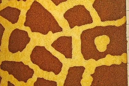 Giraffen-Biskuit-Roulade 10