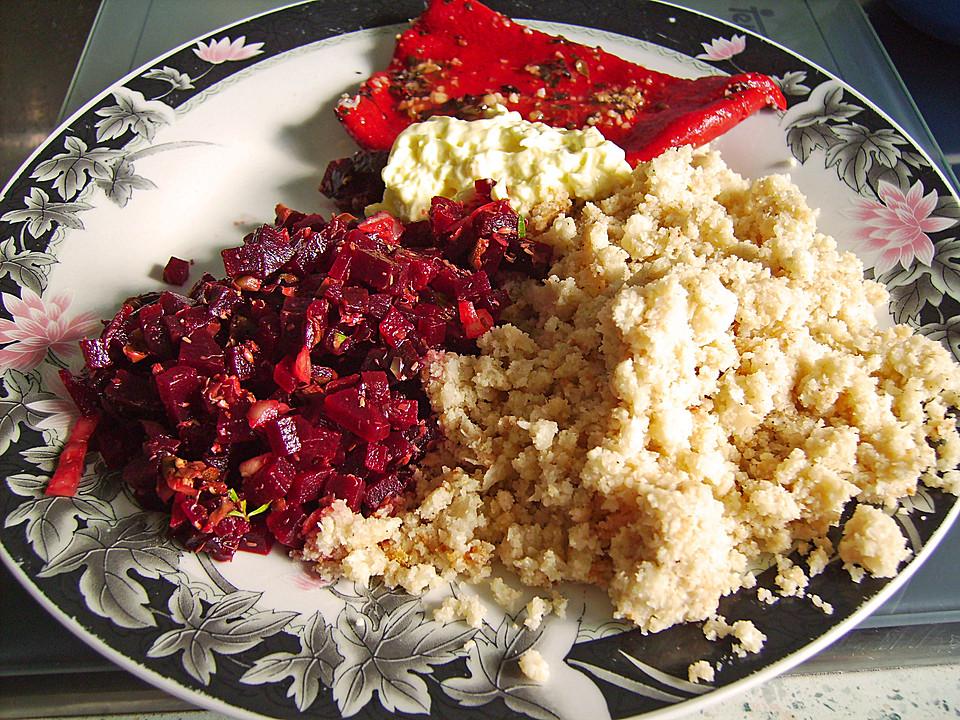 rote bete tatar vegetarisch rezept mit bild von pannepot. Black Bedroom Furniture Sets. Home Design Ideas