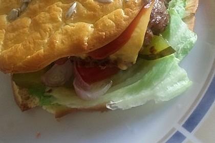 """Low Carb """"Oopsie"""" Burger 29"""