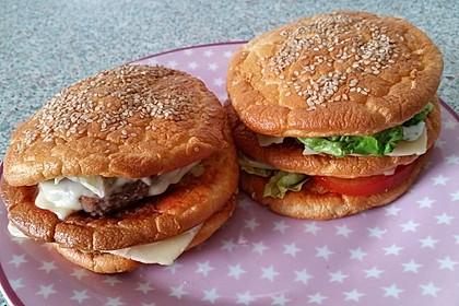 """Low Carb """"Oopsie"""" Burger 10"""