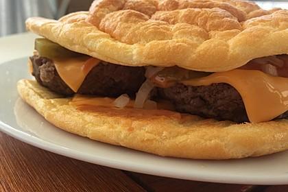 """Low Carb """"Oopsie"""" Burger 28"""