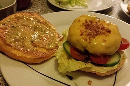 """Low Carb """"Oopsie"""" Burger 39"""