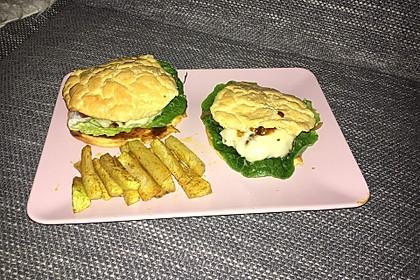 """Low Carb """"Oopsie"""" Burger 49"""