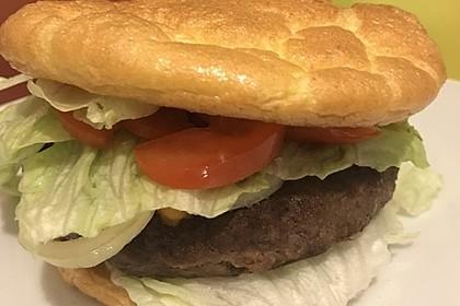 """Low Carb """"Oopsie"""" Burger 53"""