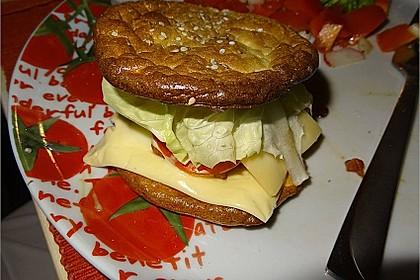 """Low Carb """"Oopsie"""" Burger 42"""