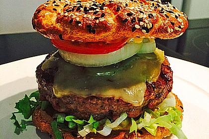 """Low Carb """"Oopsie"""" Burger 11"""