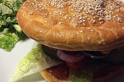 """Low Carb """"Oopsie"""" Burger 26"""