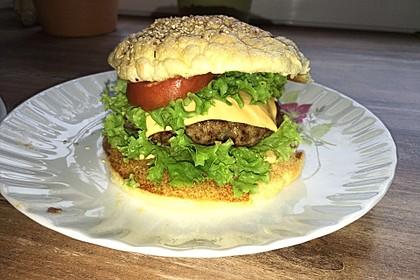 """Low Carb """"Oopsie"""" Burger 13"""