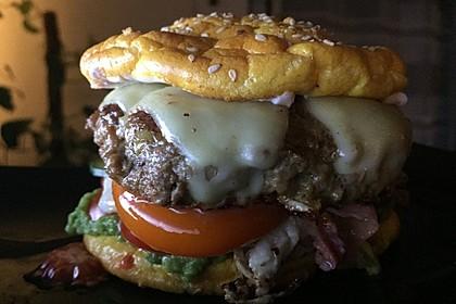 """Low Carb """"Oopsie"""" Burger 5"""