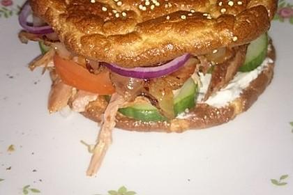 """Low Carb """"Oopsie"""" Burger 35"""