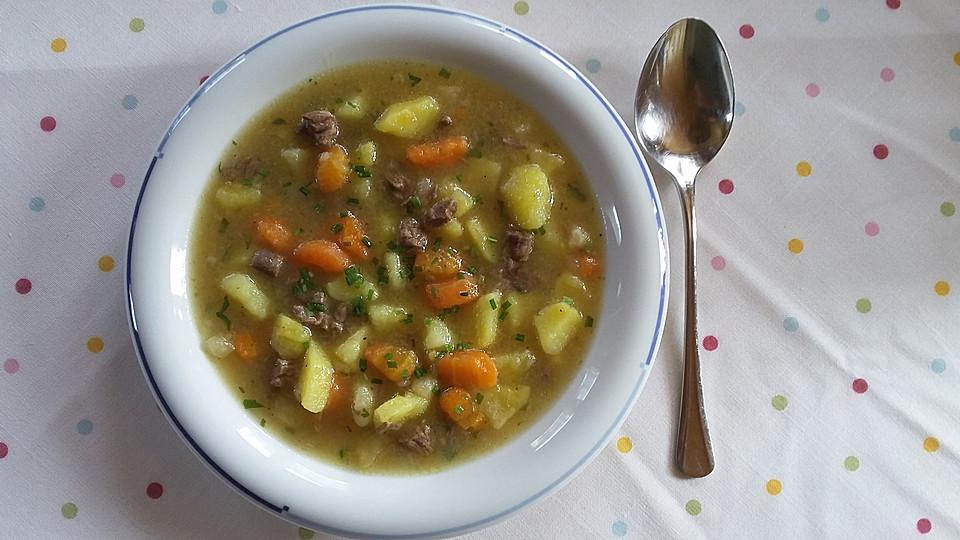 Rumänische Küche | Kartoffelsuppe Rumanische Art Rezept Mit Bild Von Geloschter
