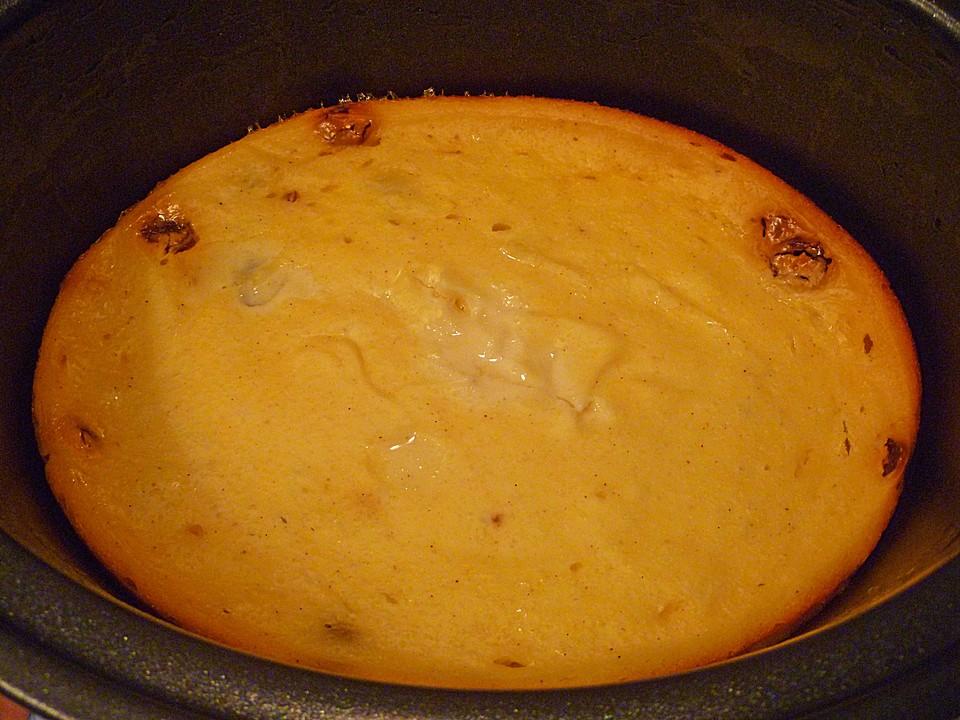 Käsekuchen aus dem Crockpot oder Slowcooker von movostu | Chefkoch.de
