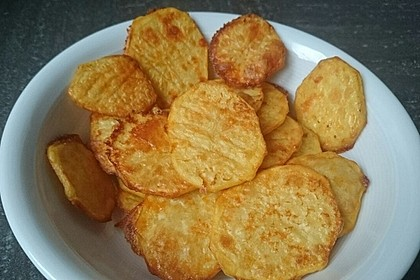 Amerikanische Parmesankartoffeln, im Ofen gebraten 14