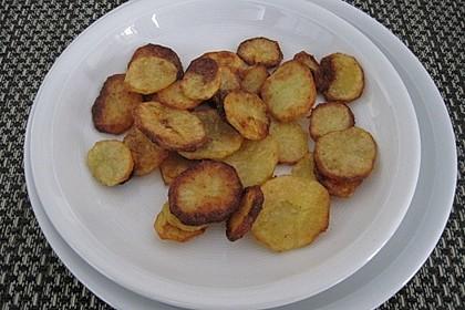 Amerikanische Parmesankartoffeln, im Ofen gebraten 13