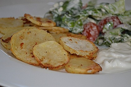 Amerikanische Parmesankartoffeln, im Ofen gebraten 10