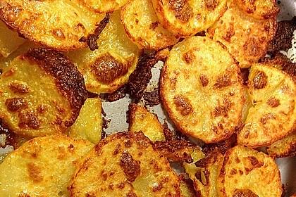 Amerikanische Parmesankartoffeln, im Ofen gebraten 9