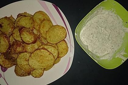Amerikanische Parmesankartoffeln, im Ofen gebraten 16