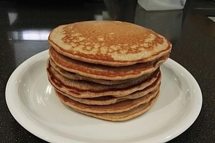 Vegane Pancakes - milchfrei, eifrei, laktosefrei 4
