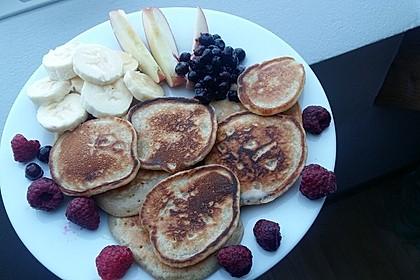 Vegane Pancakes - milchfrei, eifrei, laktosefrei 3