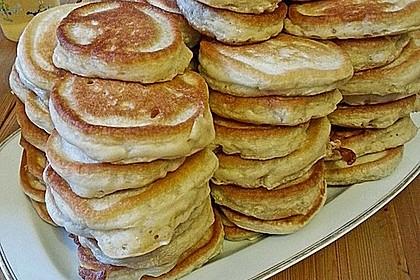 Vegane Pancakes - milchfrei, eifrei, laktosefrei 12