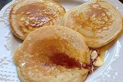 Vegane Pancakes - milchfrei, eifrei, laktosefrei 11