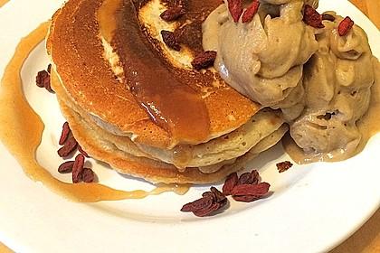 Vegane Pancakes - milchfrei, eifrei, laktosefrei 10