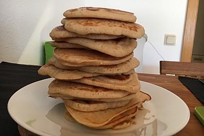 Vegane Pancakes - milchfrei, eifrei, laktosefrei 17