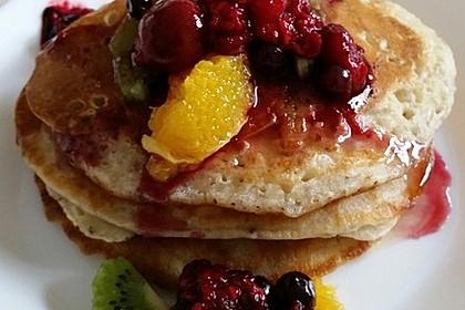 Vegane Pancakes - milchfrei, eifrei, laktosefrei 9