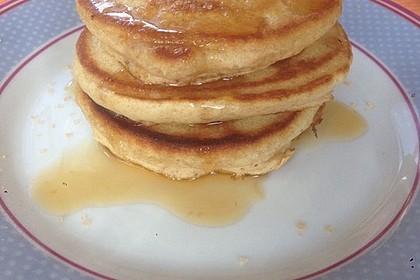 Vegane Pancakes - milchfrei, eifrei, laktosefrei 7