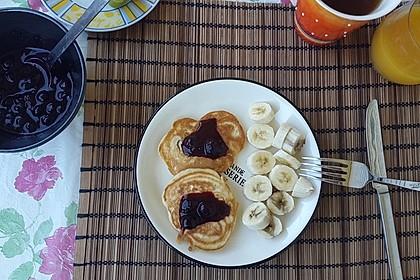 Vegane Pancakes - milchfrei, eifrei, laktosefrei 13