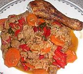 Gemüse-Reispfanne (Bild)
