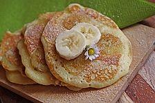 Schoko-Bananen-Pancakes
