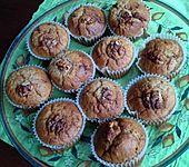 Walnuss-Muffins mit Ahornsirup