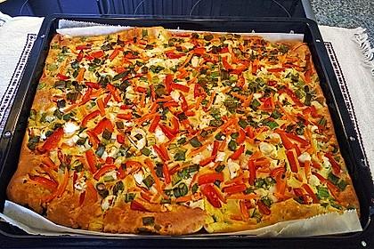 Ofenpfannkuchen mit Gemüse und Feta 8