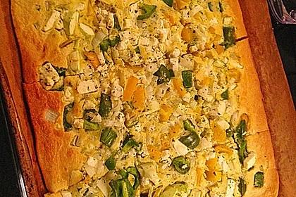 Ofenpfannkuchen mit Gemüse und Feta 26