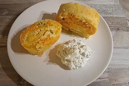 Ofenpfannkuchen mit Gemüse und Feta 14
