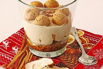 Apfel-Quark-Dessert für Erwachsene